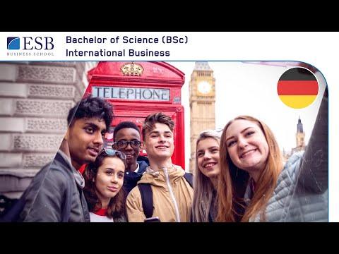 BSc International Business an der ESB Business School (deutsch)