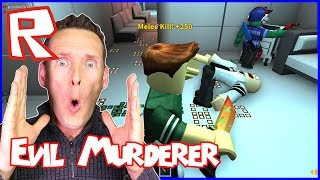 Evil Murderer Killed Me In Cold Blood / Roblox Murder Mystery
