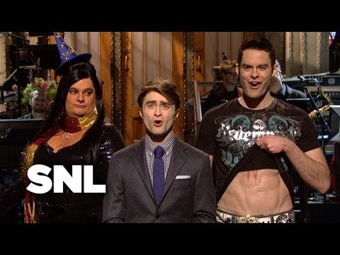 Daniel Radcliffe Monologue: Harry Potter Sketches - Saturday Night Live