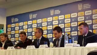 Презентация новой экипировки сборной Украины от ТМ Joma. Ч.1