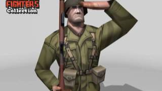WWII Fighters Collection 3d model game pack