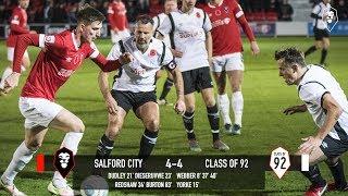 Salford City 4-4 Class of 92 - 12th November at The Peninsula Stadium