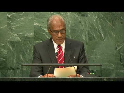 TONGA - PRIME MINISTER ADDRESSES GENERAL DEBATE, 71ST SESSION