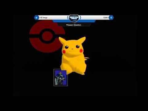 Smash@Lomas Bar 8 -SSBM- Serge (Pikachu) vs Edd0 (Ganon) Winners Quarters