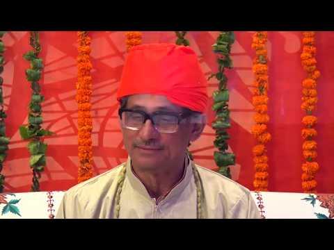 Sai Parivar Welcomes Dr  Chandra Bhanu Satpathy