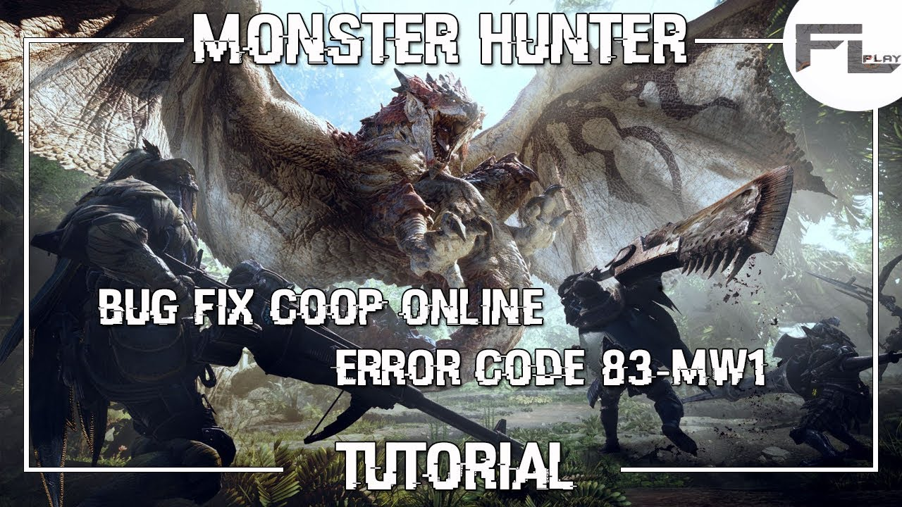 Matchmaking not working monster hunter world