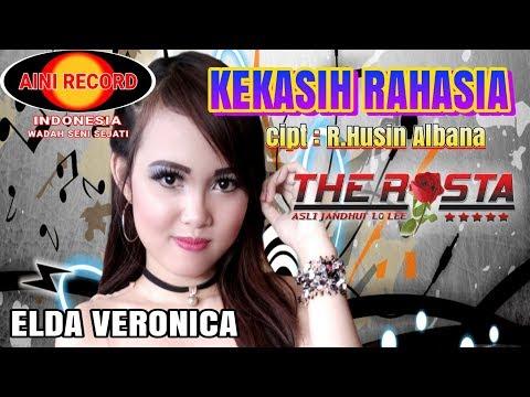 Elda Veronica - Kekasih Rahasia  ( Official Lyric Video ) - The Rosta