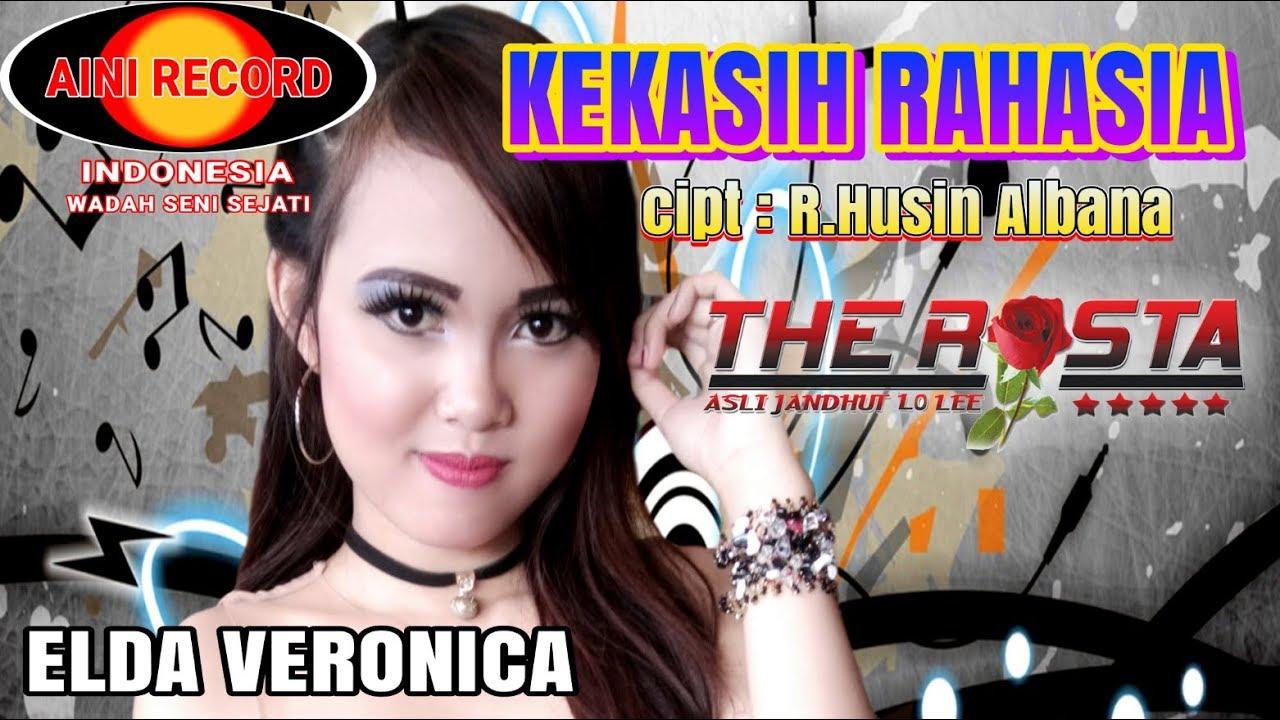 Elda Veronica - Kekasih Rahasia  ( Official Lyric Video ) - The Rosta #1