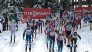 Тур де Ски 2013-2014. Ленцерхайде. Масс-старт. 15 км. Мужчины. Классический стиль
