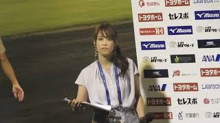 テレビ東京 鷲見玲奈アナ インタビュー1分前が可愛い 鷲見玲奈 検索動画 14