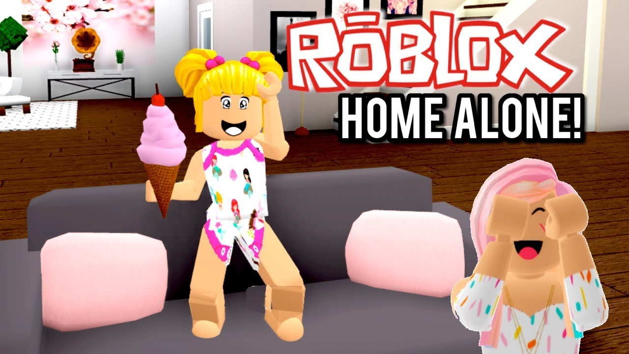 Roblox Baby Goldie Home Alone In Bloxburg Titi Games On Vacation