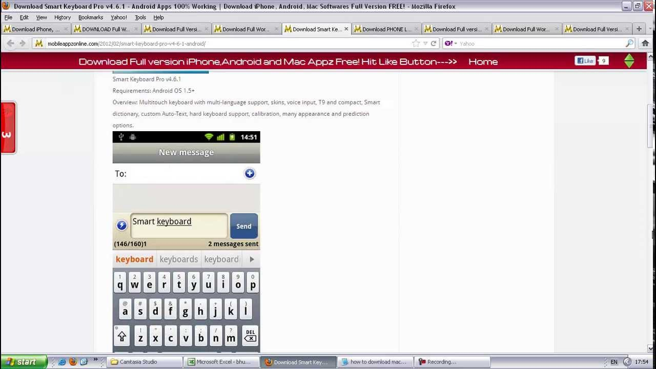 Download Free Smart Keyboard Pro v4 6 1 -- Android Apps || HERE||