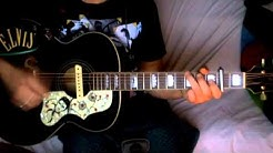 Oh Baby, die Welt ist grausam (Wild World - Cat Stevens - in German) ~ Cover Epiphone J-200 Elvis