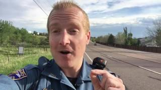The secret to getting out of a speeding ticket