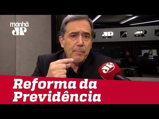 Reforma da Previdência enfrentará primeira batalha na CCJ | #MarcoAntonioVilla