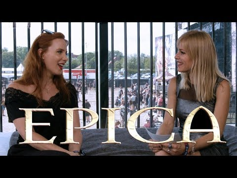 EPICA - Simone Simons on how she started, and leaving your comfort zone @ Alcatraz Festival 2018