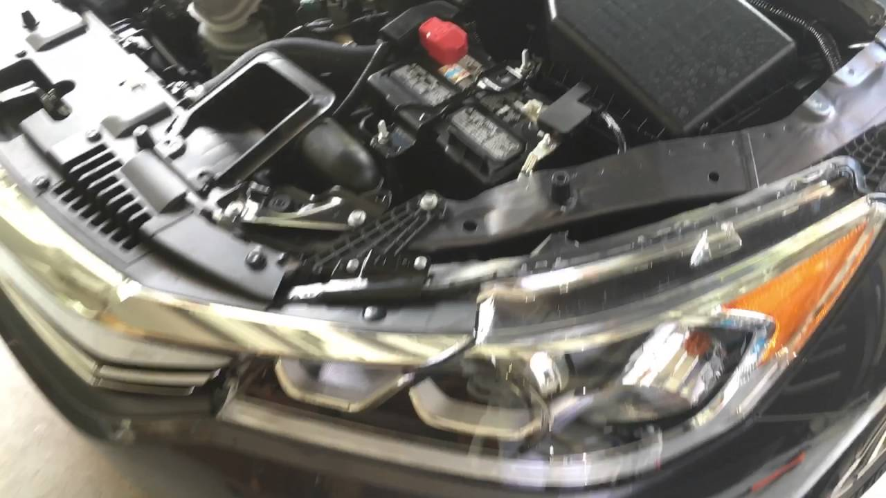 2013-2017 Honda Accord Headlight Bulb Replacement - YouTube