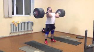 Armenian Senior National Weightlifting Team pt2