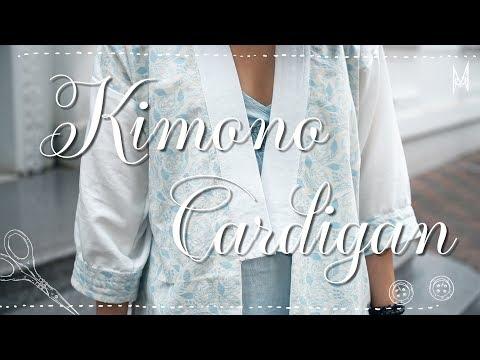 Mei Sewcial House. 7 _ Kimono Cardigan Tutorial