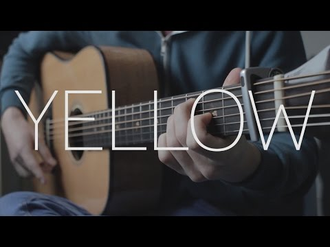 Coldplay - Yellow - Fingerstyle Guitar Cover By James Bartholomew
