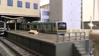 【Nゲージ】E231系 小田原駅 【再現】 thumbnail