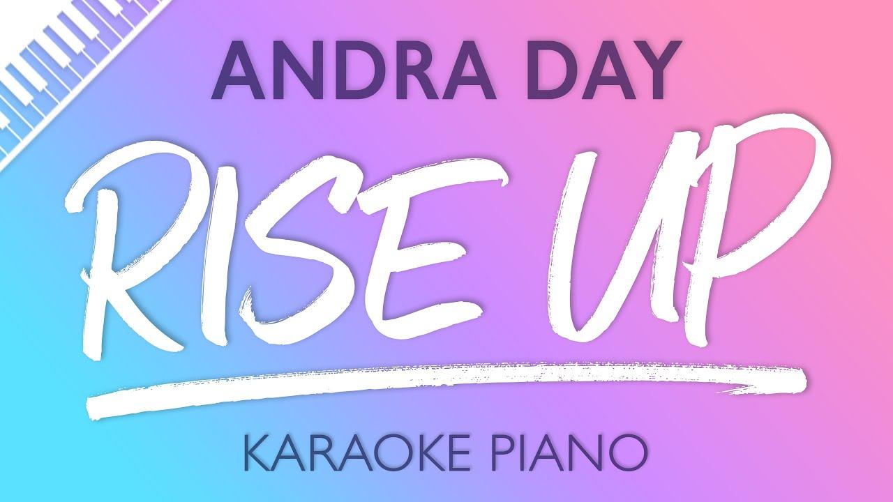 Rise Up  Piano Karaoke Instrumental  Andra Day Chords
