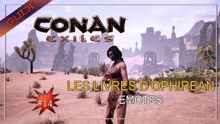 [Conan Exiles] TOUS LES LIVRES D'OPHIREAN - EMOTES FR#14