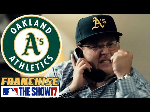 MONEYBALL - MLB The Show 17 - Franchise Mode - Oakland ep. 1
