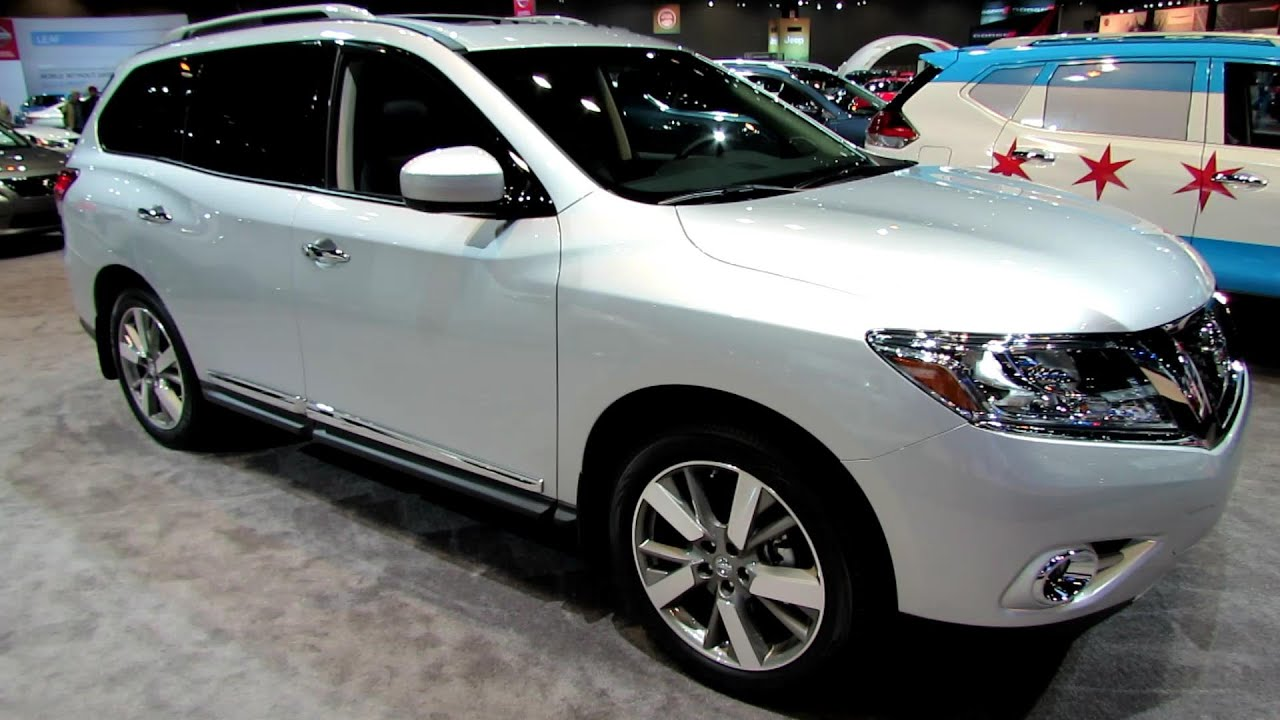 2014 Nissan Pathfinder Platinum 4wd Exterior And