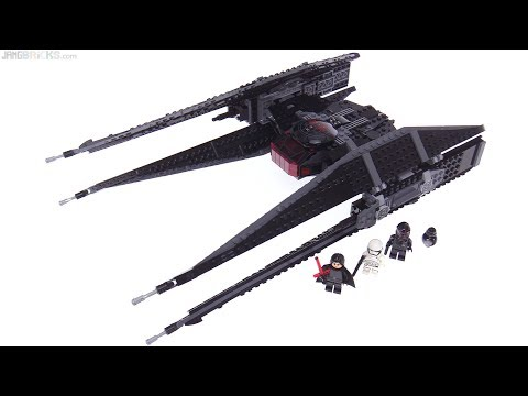 LEGO Star Wars The Last Jedi Kylo Ren's TIE Fighter review! 75179