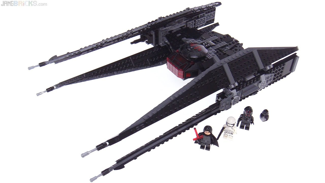 Lego Star Wars The Last Jedi Kylo Rens Tie Fighter Review 75179