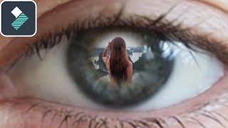 ZOOM Through Eye TRANSITION in Filmora 9 Tutorial