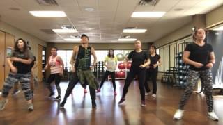 Zumba Choreography Shakira's Me Enamore.
