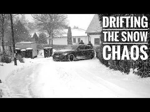 DRIFTING THE SNOW CHAOS | New Diesel Daily | High Speed Drifts | 10.12.2017
