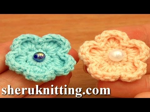 Basic Crochet Flower Patterns Free : Easy Crochet Flower Free Pattern Tutorial 81 Flowers For ...