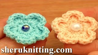 Easy Crochet Flower Free Pattern Tutorial 81 Flowers For Beginner Crochetersm