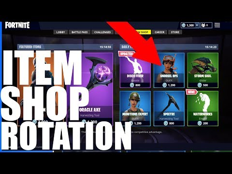 HOW The DAILY Item Shop WORKS (rotation Of Skins) - Fortnite