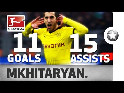 Henrikh Mkhitaryan - All Goals & Assists 2015/16