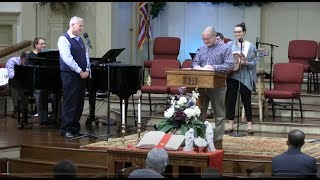 January 3, 2021 Service [Trimmed] at First Baptist Thomson, Streaming License 201531172