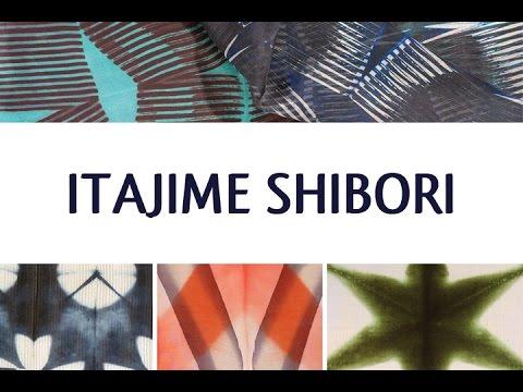 Itajime Shibori • Ana Lisa Hedstrom