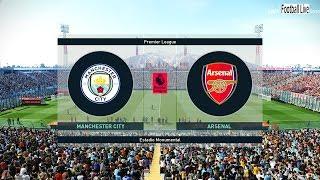 PES 2019   Manchester City vs Arsenal   Denis Suarez to Arsenal   Gameplay PC