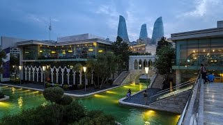 Баку Бакинская Венеция Парк Бульвар Baku Venice Park Boulevard