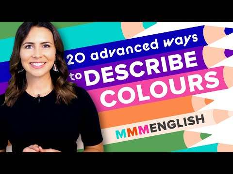 Learn 20 Advanced Colours & Build Your English Vocabulary