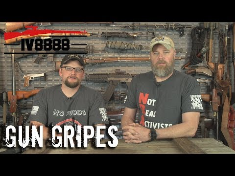 "Gun Gripes #158:  ""Reasonable Restrictions with Military Arms Channel"""""