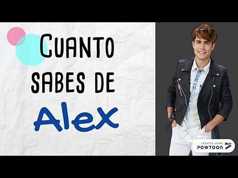 QUIZ ¿Cuánto Sabes De Alex?