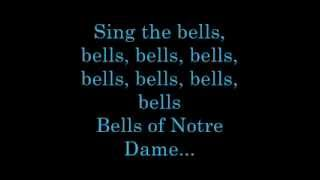 The Bells of Notre Dame   Lyrics