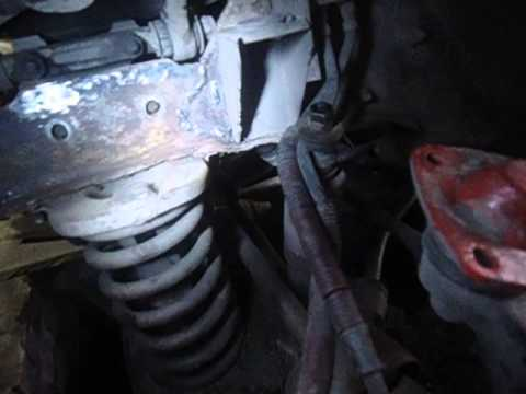 ВАЗ 2121 Нива, ремонт лонжерона (часть №8)