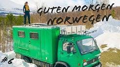 Guten Morgen Norwegen – nächtlicher Besuch und eine defekte Heizung | über die E06 nach Senja | #6