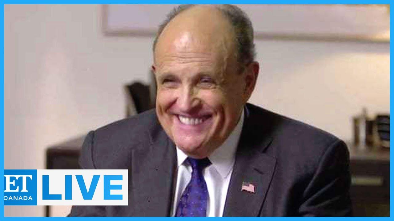 Rudy Giuliani Explains 'Borat 2' Scene