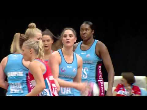 Melbourne Vixens W Vs. New South Wales Swifts W-AUSTRALIA & OCEANIA Suncorp Super Netball 2017 03 04
